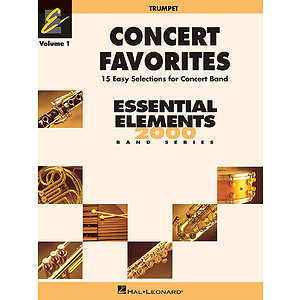 Concert Favorites Vol. 1 - Bb Trumpet