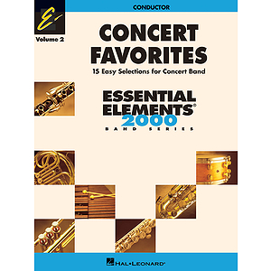 Concert Favorites, Volume 2 - Conductor