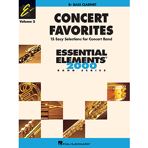 Concert Favorites Vol. 2 - Bass Clarinet