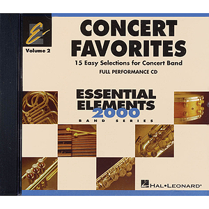 Concert Favorites Vol. 2 - Full Performance CD