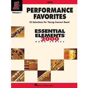 Performance Favorites, Vol. 1 - Oboe