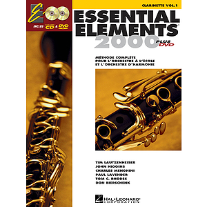 Essential Elements EE2000 Clarinet B-flat (DVD)