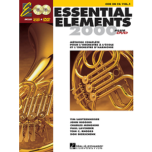 Essential Elements EE2000 French Horn (DVD)