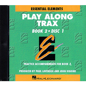 Essential Elements Book 2 - Play Along Trax - 2 CD set