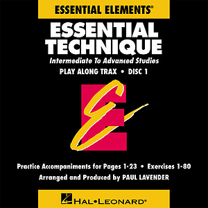 Essential Technique Play Along Trax - 2-CD Set