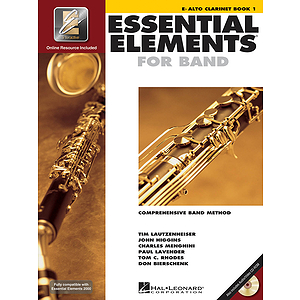 Essential Elements 2000, Book 1 Plus DVD