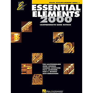 Essential Elements 2000, Book 1