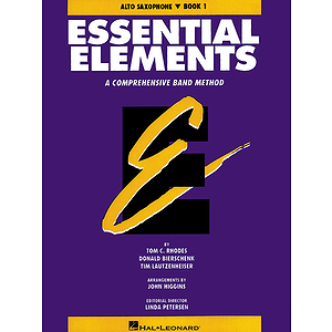 Essential Elements Book 1 - Eb Alto Saxophone
