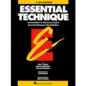Essential Technique - Eb Baritone Saxophone