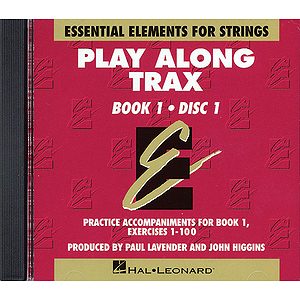 Essential Elements for Strings Book 1 - Play Along Trax - 2 CDs