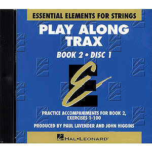 Essential Elements for Strings Book 2 - Play Along Trax - 2 CDs