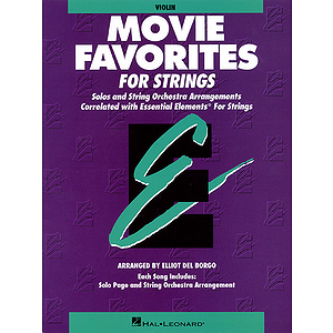 Essential Elements Movie Favorites for Strings