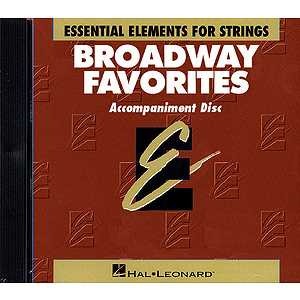 Essential Elements Broadway Favorites for Strings - CD
