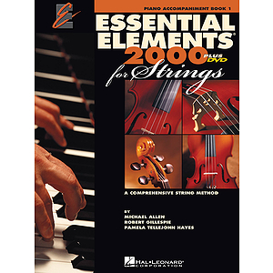 Essential Elements 2000 for Strings - Piano Accompaniment, Book 1