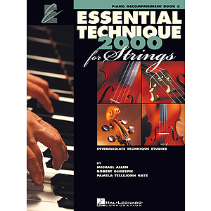 Essential Technique 2000 for Strings - Book 3