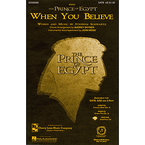 When You Believe (from The Prince of Egypt)