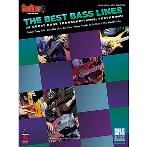 Guitar One Presents: The Best Bass Lines