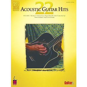 22 Acoustic Guitar Hits