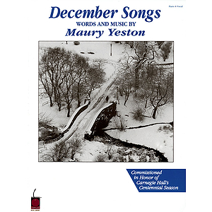 Maury Yeston - December Songs