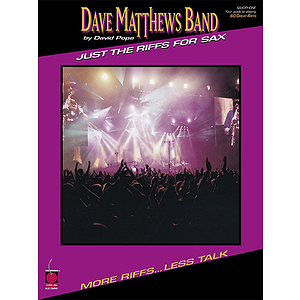 Dave Matthews Band - Just the Riffs for Sax
