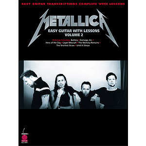 Metallica - Easy Guitar with Lessons, Volume 2