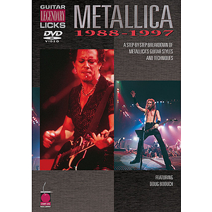 Metallica - Guitar Legendary Licks 1988-1997 (DVD)
