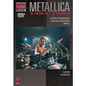 Metallica - Legendary Licks Drums 1983-1988 DVD