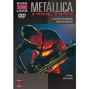 Metallica - Bass Legendary Licks 1988-1997 (DVD)