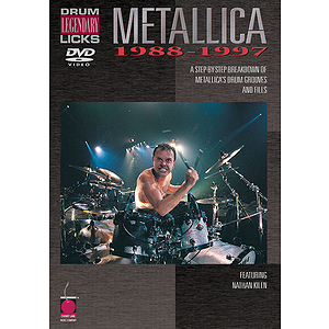 Metallica - Drum Legendary Licks 1988-1997 (DVD)