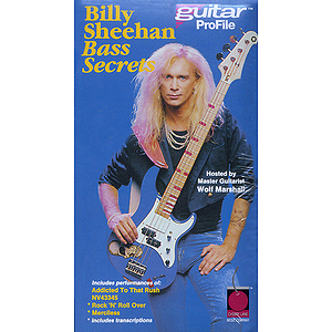 Billy Sheehan - Bass Secrets (Japanese) (VHS)