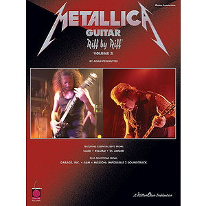 Metallica Guitar Riff by Riff, Volume 2