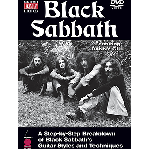 Black Sabbath - Guitar Legendary Licks DVD