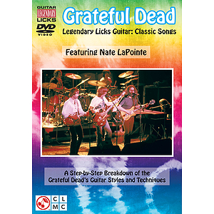Grateful Dead Legendary Licks - Classic Songs (DVD)
