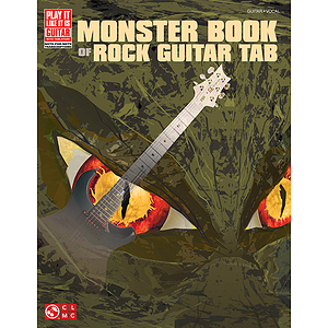 Monster Book of Rock Guitar Tab