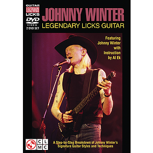 Johnny Winter - Legendary Licks Guitar (DVD)