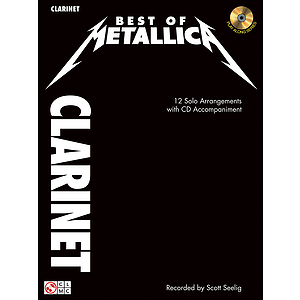 Best of Metallica for Clarinet