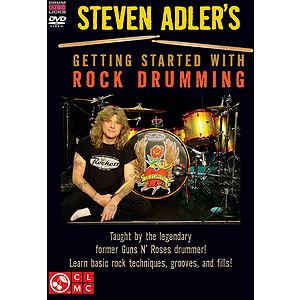 Steven Adler's Getting Started with Rock Drumming (DVD)