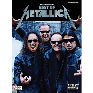 Best of Metallica - Transcribed Full Scores