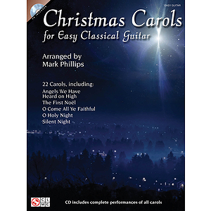 Christmas Carols for Easy Classical Guitar