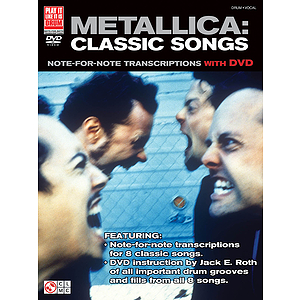 Metallica: Classic Songs for Drum (DVD)