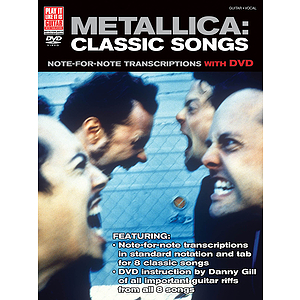 Metallica: Classic Songs for Guitar (DVD)
