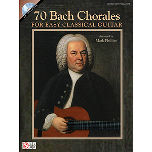 70 Bach Chorales for Easy Classical Guitar