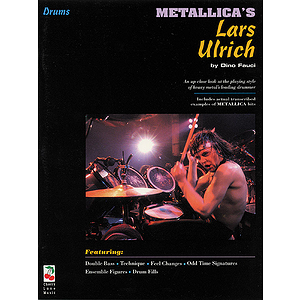 Metallica&#039;s Lars Ulrich - Drum Book/CD Pack