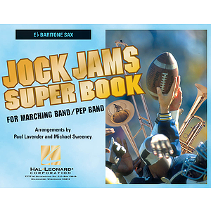 Jock Jams Super Book - Eb Baritone Saxophone