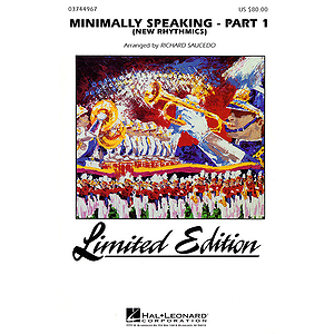 Minimally Speaking - Part 1 (Newrhythmics)