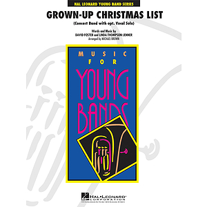 Grown-Up Christmas List (with Optional Vocal Solo)