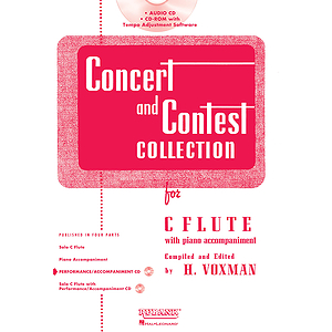 Concert and Contest Collection for C Flute - Accompaniment CD