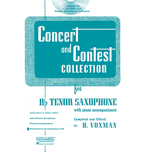 Concert and Contest Collection for Bb Tenor Sax - Accompaniment CD