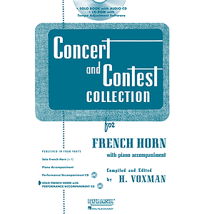 Concert and Contest Collection for F Horn