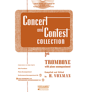 Concert and Contest Collection for Trombone - Book/CD Pack
